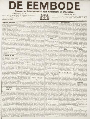 De Eembode 1914-07-17