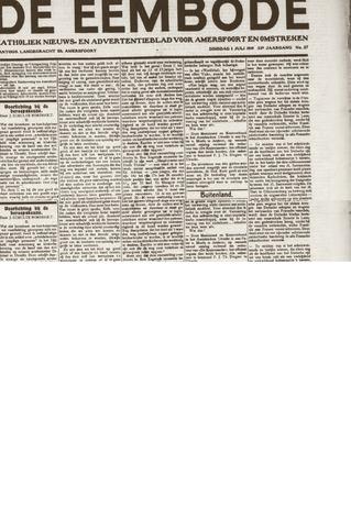 De Eembode 1919-07-01
