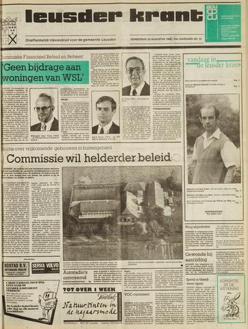Leusder Krant 1988-08-25