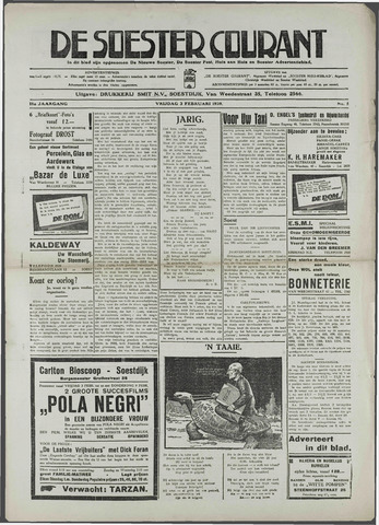 Soester Courant 1939-02-03