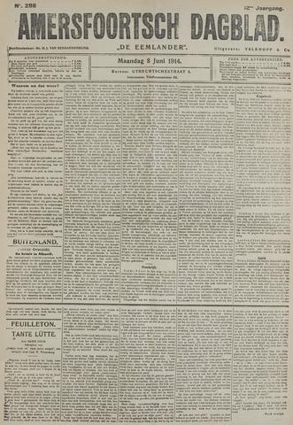Amersfoortsch Dagblad / De Eemlander 1914-06-08