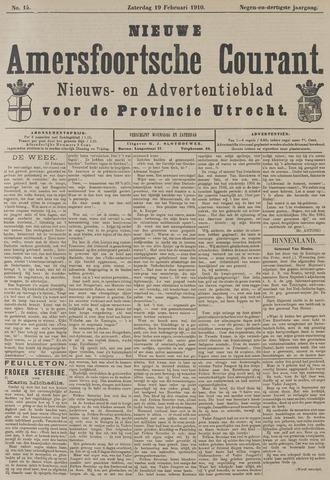 Nieuwe Amersfoortsche Courant 1910-02-19