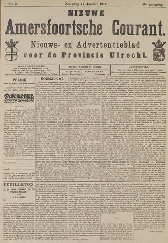 Nieuwe Amersfoortsche Courant 1914-01-17