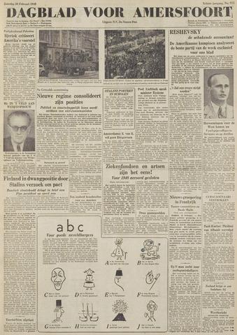 Dagblad voor Amersfoort 1948-02-28