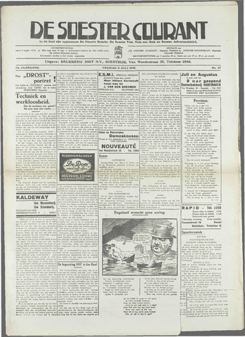 Soester Courant 1938-07-08