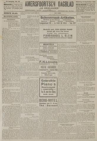 Amersfoortsch Dagblad / De Eemlander 1925-09-12
