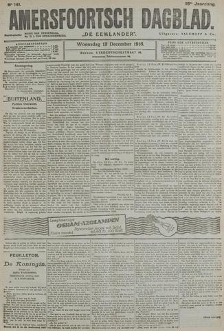 Amersfoortsch Dagblad / De Eemlander 1916-12-13