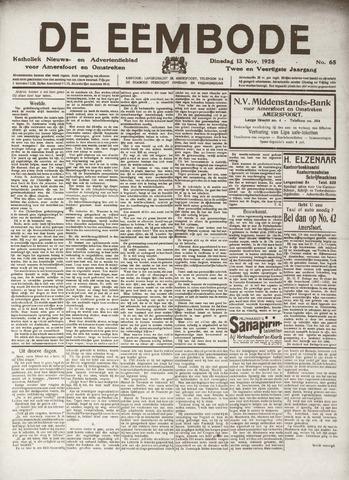De Eembode 1928-11-13