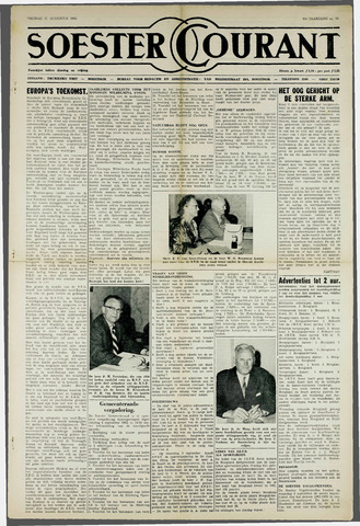 Soester Courant 1962-08-31