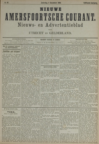 Nieuwe Amersfoortsche Courant 1886-12-04