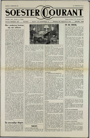 Soester Courant 1951-02-06