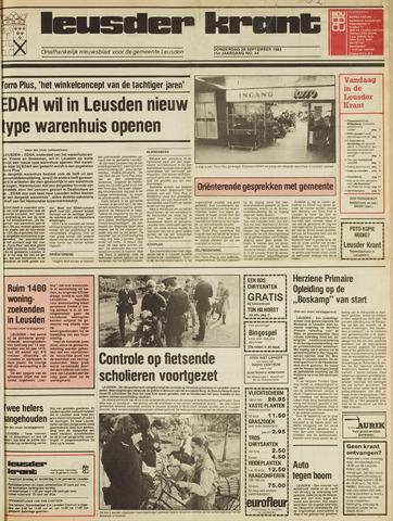 Leusder Krant 1983-09-29
