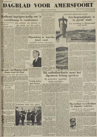 Dagblad voor Amersfoort 1950-02-14