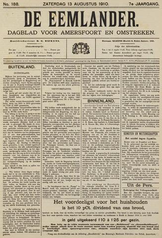 De Eemlander 1910-08-13