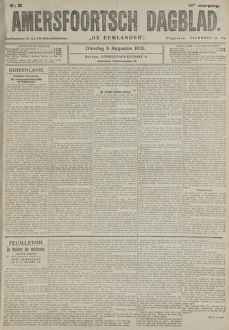 Amersfoortsch Dagblad / De Eemlander 1913-08-05