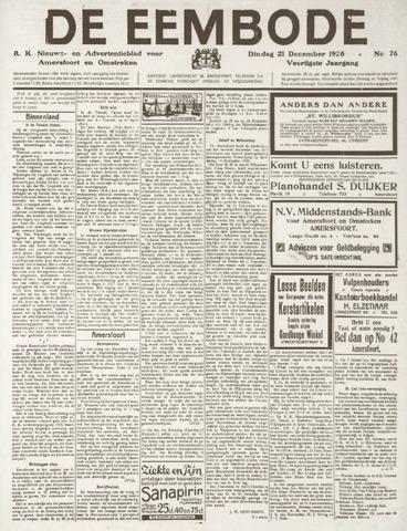 De Eembode 1926-12-21