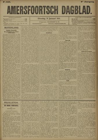 Amersfoortsch Dagblad 1911-01-31