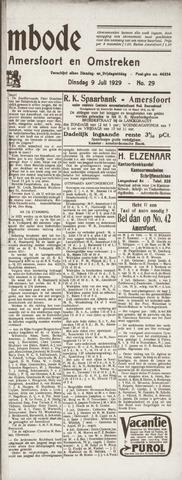 De Eembode 1929-07-09