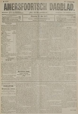 Amersfoortsch Dagblad / De Eemlander 1917-05-22
