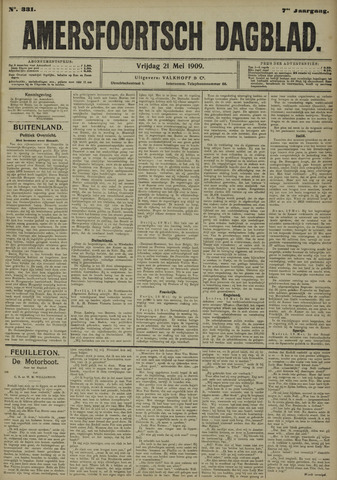 Amersfoortsch Dagblad 1909-05-21