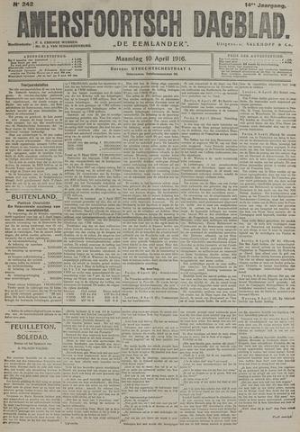 Amersfoortsch Dagblad / De Eemlander 1916-04-10