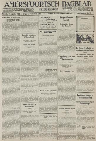 Amersfoortsch Dagblad / De Eemlander 1930-08-13