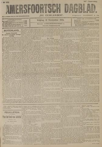 Amersfoortsch Dagblad / De Eemlander 1915-11-19