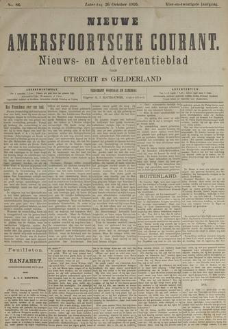 Nieuwe Amersfoortsche Courant 1895-10-26