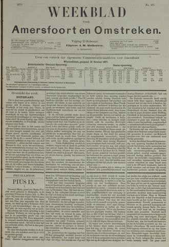 Weekblad voor Amersfoort en Omstreken 1878-02-15