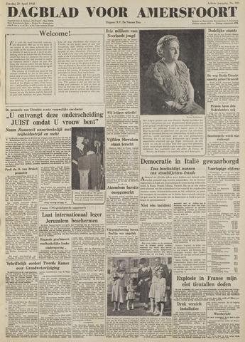 Dagblad voor Amersfoort 1948-04-20