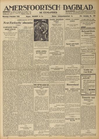 Amersfoortsch Dagblad / De Eemlander 1935-11-06