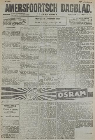 Amersfoortsch Dagblad / De Eemlander 1916-12-22