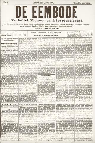De Eembode 1898-04-23