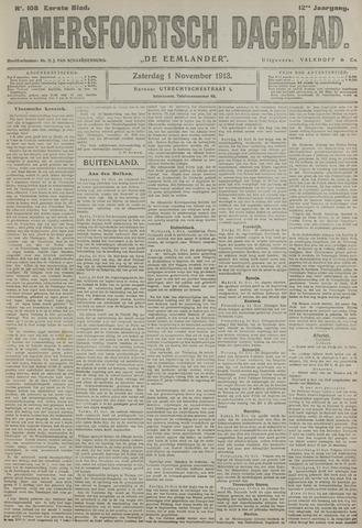 Amersfoortsch Dagblad / De Eemlander 1913-11-01