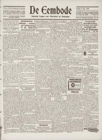 De Eembode 1933-08-04