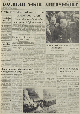 Dagblad voor Amersfoort 1950-12-13