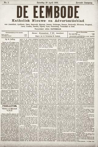 De Eembode 1893-04-29