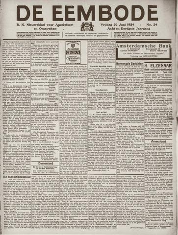 De Eembode 1924-06-20