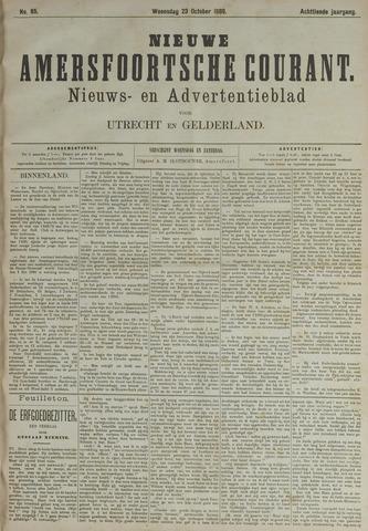 Nieuwe Amersfoortsche Courant 1889-10-23