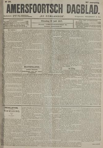 Amersfoortsch Dagblad / De Eemlander 1917-07-31