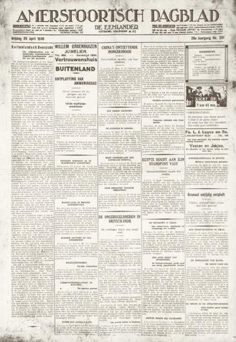 Amersfoortsch Dagblad / De Eemlander 1930-04-25