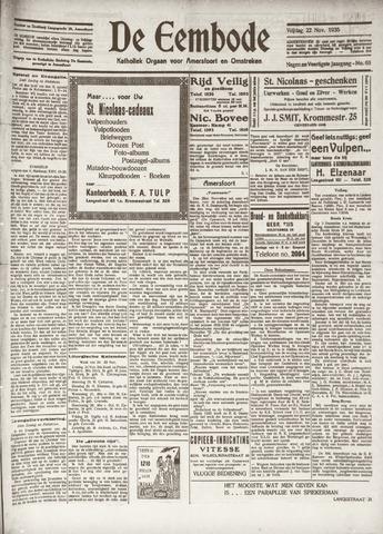 De Eembode 1935-11-22