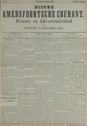 Nieuwe Amersfoortsche Courant 1886-02-03