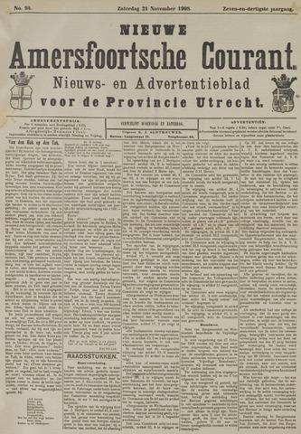 Nieuwe Amersfoortsche Courant 1908-11-21
