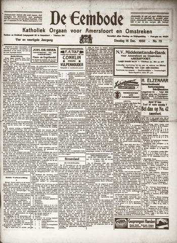 De Eembode 1930-12-16