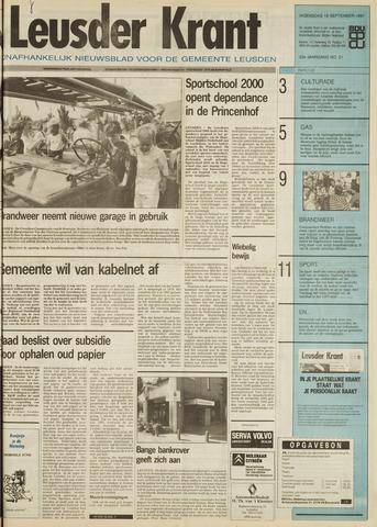 Leusder Krant 1991-09-18