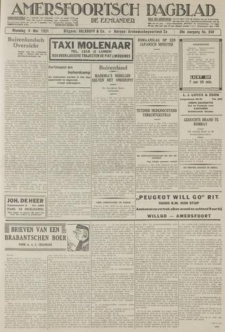 Amersfoortsch Dagblad / De Eemlander 1931-05-04