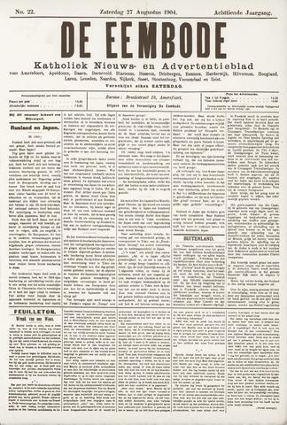 De Eembode 1904-08-27