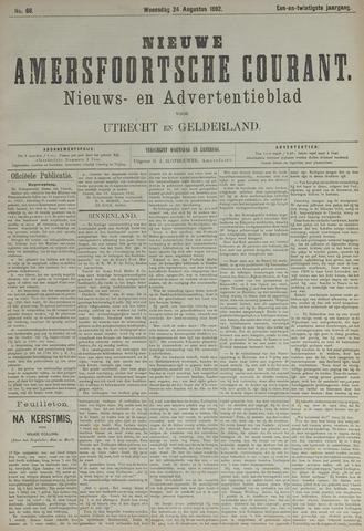 Nieuwe Amersfoortsche Courant 1892-08-24