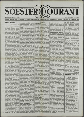 Soester Courant 1957-11-05